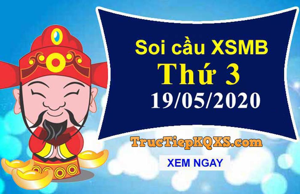 Soi cầu xsmb, dự đoán kqxs miền Bắc ngày 19/05/2020